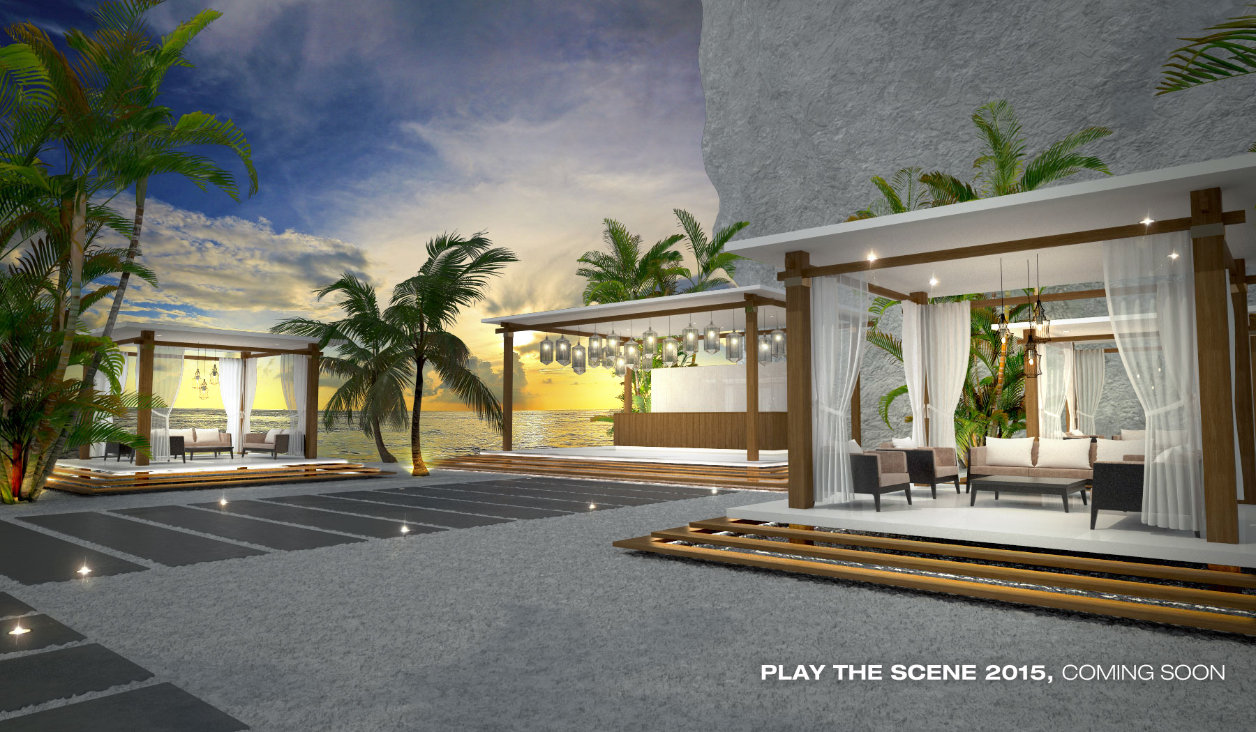Play the scene interior (3)